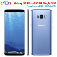 New Original Samsung Galaxy S8 Plus S8+ G955U Mobile Phone At&t Snapdragon 835 Octa Core 6.2 4GB 64GB NFC 12MP 4G Phone G955A