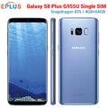 Nuovo Originale Samsung Galaxy S8 Più S8 + G955U Del Telefono Mobile At & T Snapdragon 835 Octa Core 6.2 4 GB 64GB NFC 12MP 4G Del Telefono G955A