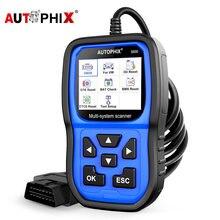 Autophix-escáner automotriz 5600 OBD2, lector de código completo profesional, Airbag, ABS, EPB, reinicio de aceite, herramienta de diagnóstico de coche para VW