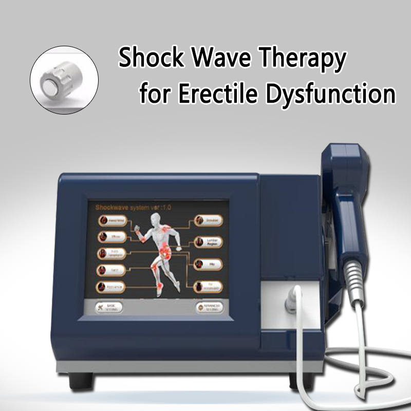 6 Bar Shock Physiotherapy Shock Wave Machine For Erectile Dysfunction, Shock Wave Therapy For Pain