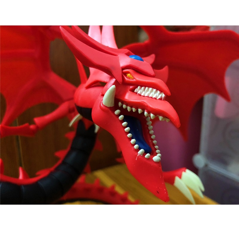 Large Size Duel Monsters Yu Gi Oh Slifer The Sky Dragon Resin Myth Dragon King Model TCG Figures Toys