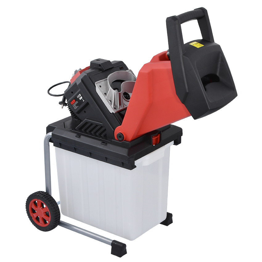 2500W Pulverizer Machine Machine ES Electric 110V Tree Branch Crushing Garden Branch Breaking S4002 Crusher Tool Electric 220V