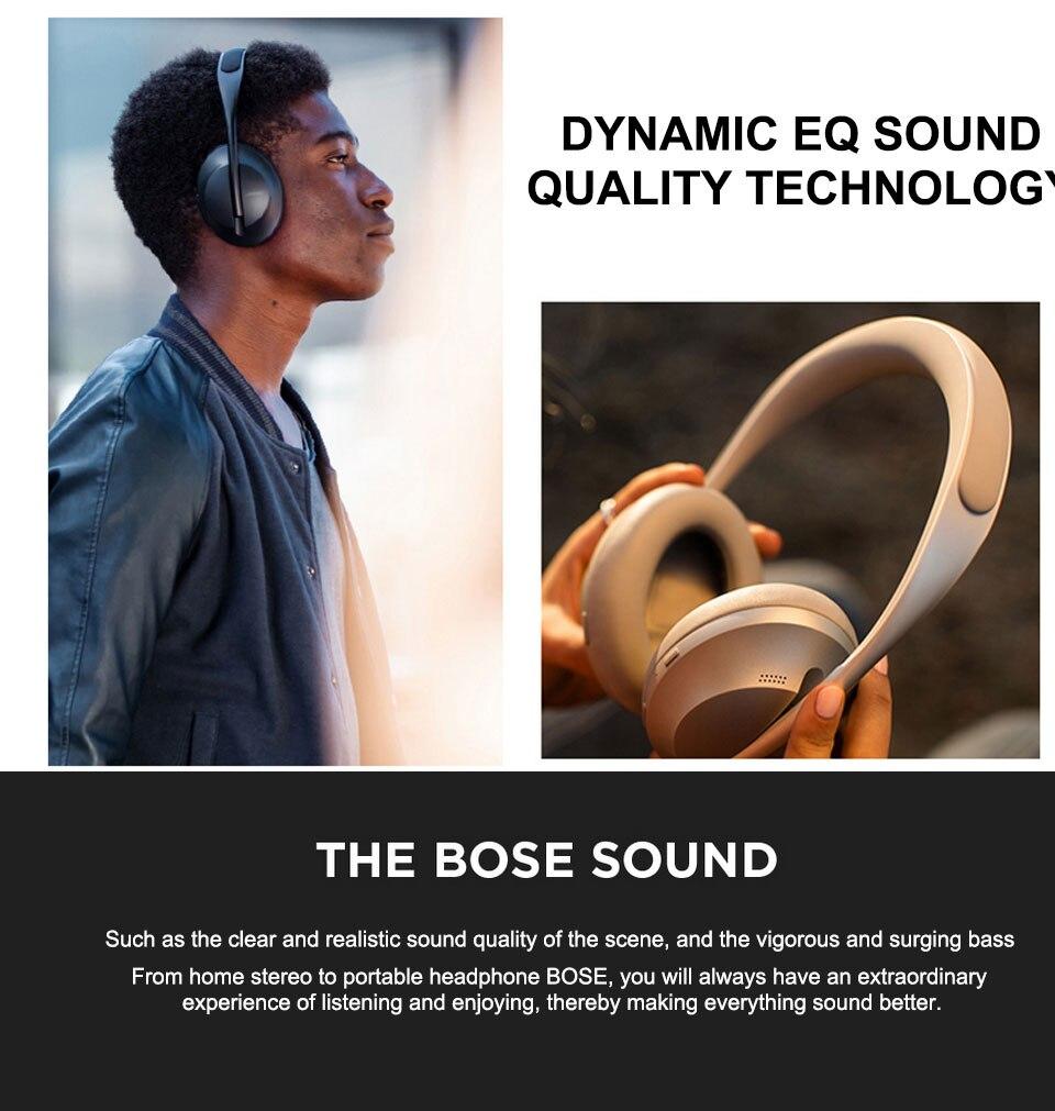 Bose cancelamento de ruído fones de ouvido