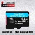 Kingston 128 Гб микро sd слот для карт памяти 64G Class10 TF карты 256 ГБ 512 ГБ sd-карта памяти Canvas Go Plus microSD карта для смартфона