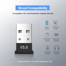 Kebidumei Mini Bluetooth Adapter V5.0 Không Dây BT5.0 Adapter USB Bluetooth Dongle Tramsmitter Cho Laptop Bàn Phím Chuột(China)
