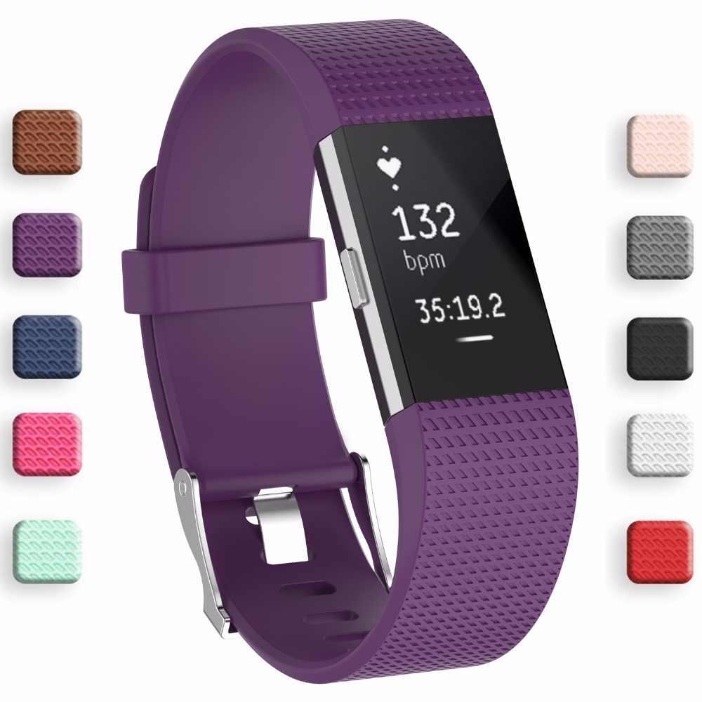 Best prezzo Wristband Cinturino Da Polso Smart Watch Band Strap Morbido Cinturino Di Ricambio Fascia Smartwatch Per Fitbit Carica 2