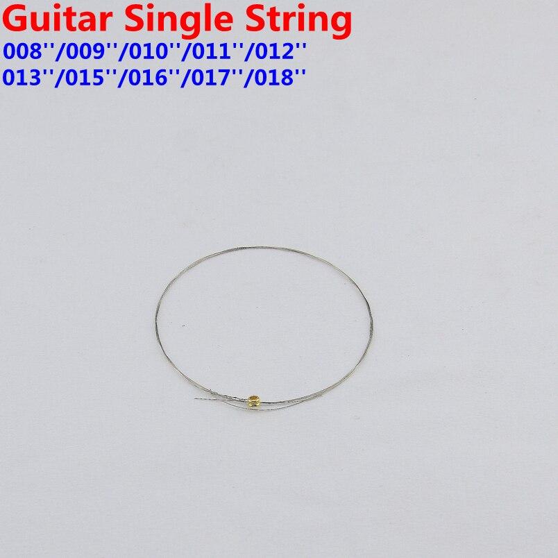 1 шт. гитара одна струна 008/009/010/011/012/013/015/016/017/018 Сделано в Корее