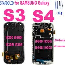 For Samsung Galaxy S4 i9505 i9500 i9506 LCD Display Touch Screen S3 i9300 i9300i i9308i i9305 LCD Touch Assembly With Frame for samsung galaxy s3 tft lcd display lcd touch screen digitizer assembly with frame for samsung galaxy s3 i9300 i9300i i9308i