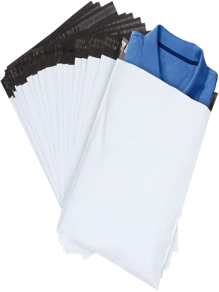 Envelope-Bag Bag-Product Packaging-Bag Self-Adhesive Plastic Currier White Poly
