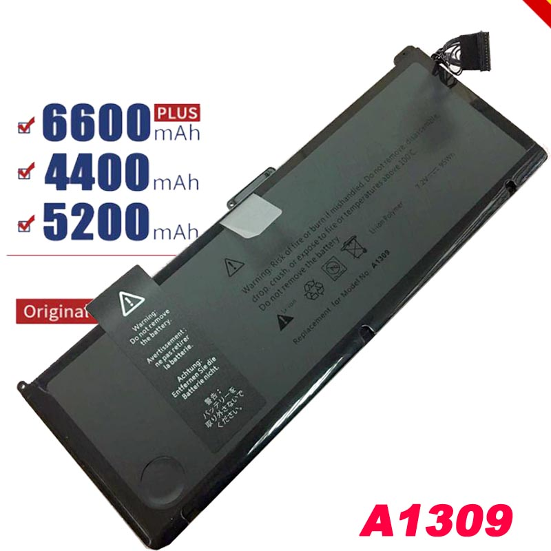95wh 10.95V Laptop Battery A1309 For Apple MacBook Pro NB604 A1297 MC226 MC226*/A MC226LL/A MC226J/A Series Free