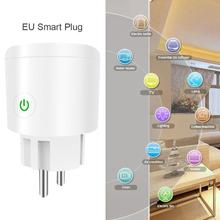 Smart Plug Wifi Smart Socket Tuya Smart Life App EU Plug Phone Timing Outlet Switch Remote Control Alexa Google Home Mini IFTTT