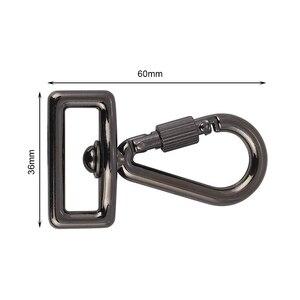 """Image 3 - อุปกรณ์เสริม 1/4 """"สกรูอะแดปเตอร์ + เชื่อมต่อตะขอสำหรับสลิงอย่างรวดเร็วสายคล้องไหล่เข็มขัดกล้อง DSLR กระเป๋ากรณี"""