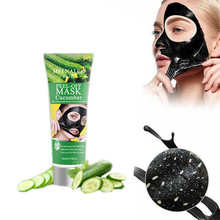 Eye Face Nose Mask Pigmentation Suction Black Head Cucumber Face Mask Eye Patches For Acne Treatment Cream Freckles Fade Fleck(China)