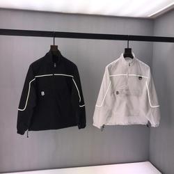 2020 primavera Estate a prova di Sole dei vestiti delle Donne di Parigi Lettera Del Ricamo Del Cotone Nero Manica Corta da uomo T-Shirt B54
