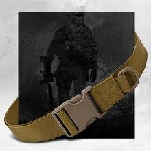 Простой тактический ремень для наружного оборудования, сумка для ношения, нейлоновая сумка для верховой езды, военный ремень с креплением, спортивный ремень, тактический
