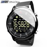Relógio inteligente esportivo digital  relógio inteligente à prova d'água com informações lembretes bluetooth para ios e android