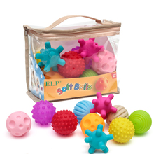 Textured Hands Touch Ball Baby Sensory Toys Soft Massage Sensory Balls Baby Tactile Development Baby Toys 0 12 Months