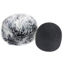 Am05 furry лобовое стекло пенный (мягкий) Микрофон для blue