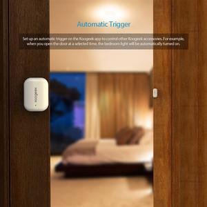 Image 5 - Koogeek Wireless Home Security Alarm Window Door Sensor Detector APP Remote Access Automatic Trigger For Home Alarm System