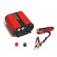1000W Car Inverter DC12V To AC110V Power Inverter Dual USB Ports High Conversion Aluminum Alloy Housing Transformer Battery Accessories     -