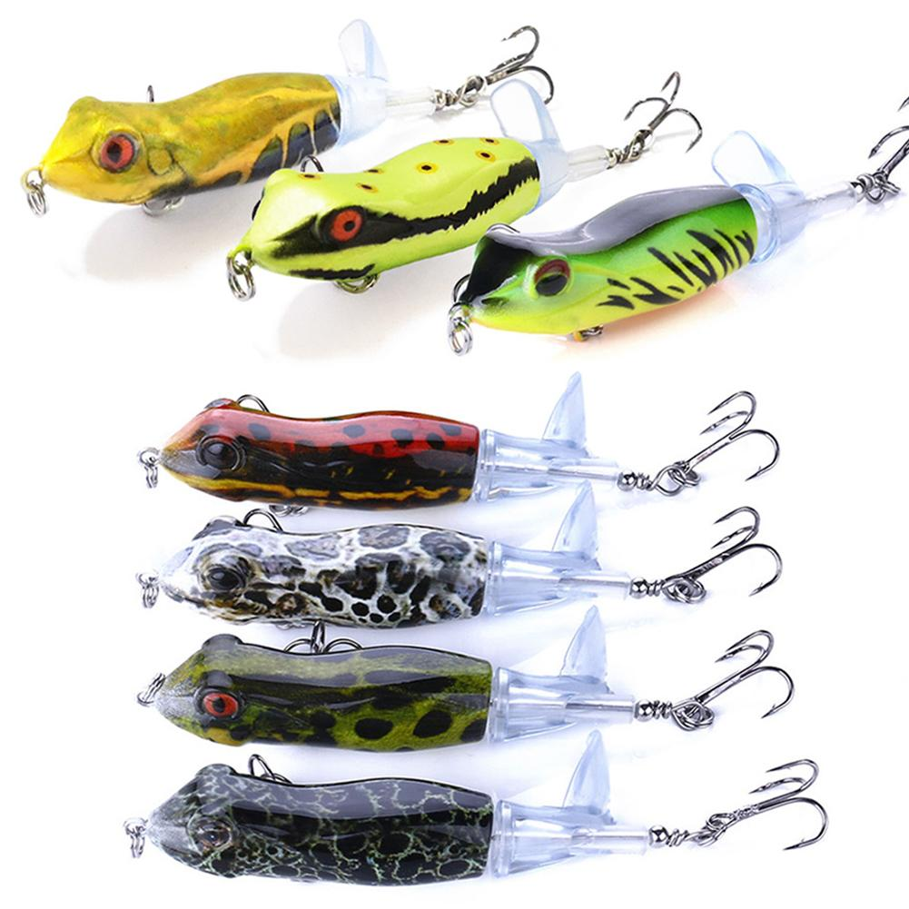 9CM/11G <font><b>Fishing</b></font> <font><b>Lure</b></font> With Floating Rotating Tail Life-like Topwater Bait Freshwater Saltwater <font><b>Lures</b></font> For Carp Perch <font><b>Barracuda</b></font> image