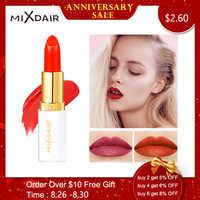 MIXDAIR 6 colores terciopelo lápiz labial mate impermeable de larga duración profesional al por mayor belleza maquillaje mate labios cosméticos