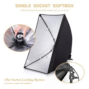 Image 3 - Photo Studio Equipment Photography Softbox Lighting Kit 50x70CM Professional Continuous Light System Soft box