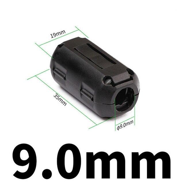 5 шт кольцевой индуктор для цифрового кабеля rfi emi фотография