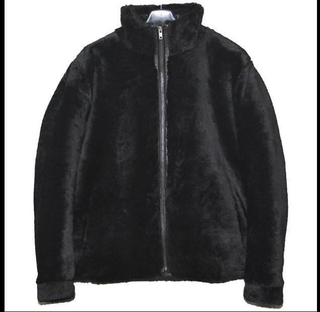 Free Shipping,Sheep Fur,wool Sheared Fur Leather,men's Warm Jacket,men's Collar Winter Coat.plus Size Black Jackets.sales