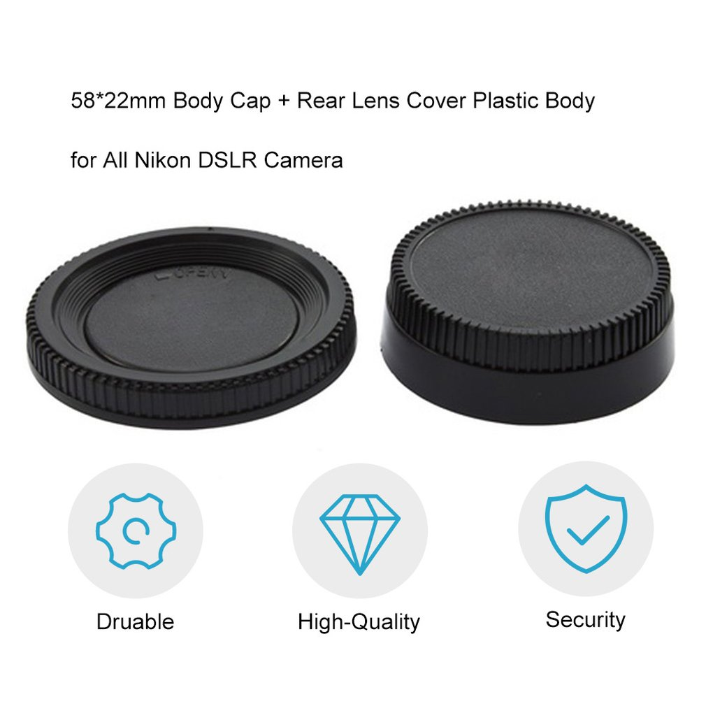 Professional Body Cap Cover for Nikon SLR Cameras