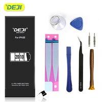 DEJI for iphone 6s 배터리 5s se 6 7 8 X 배터리 대용량 내부 배터리 교체 기존 리튬 배터리 도구 키트