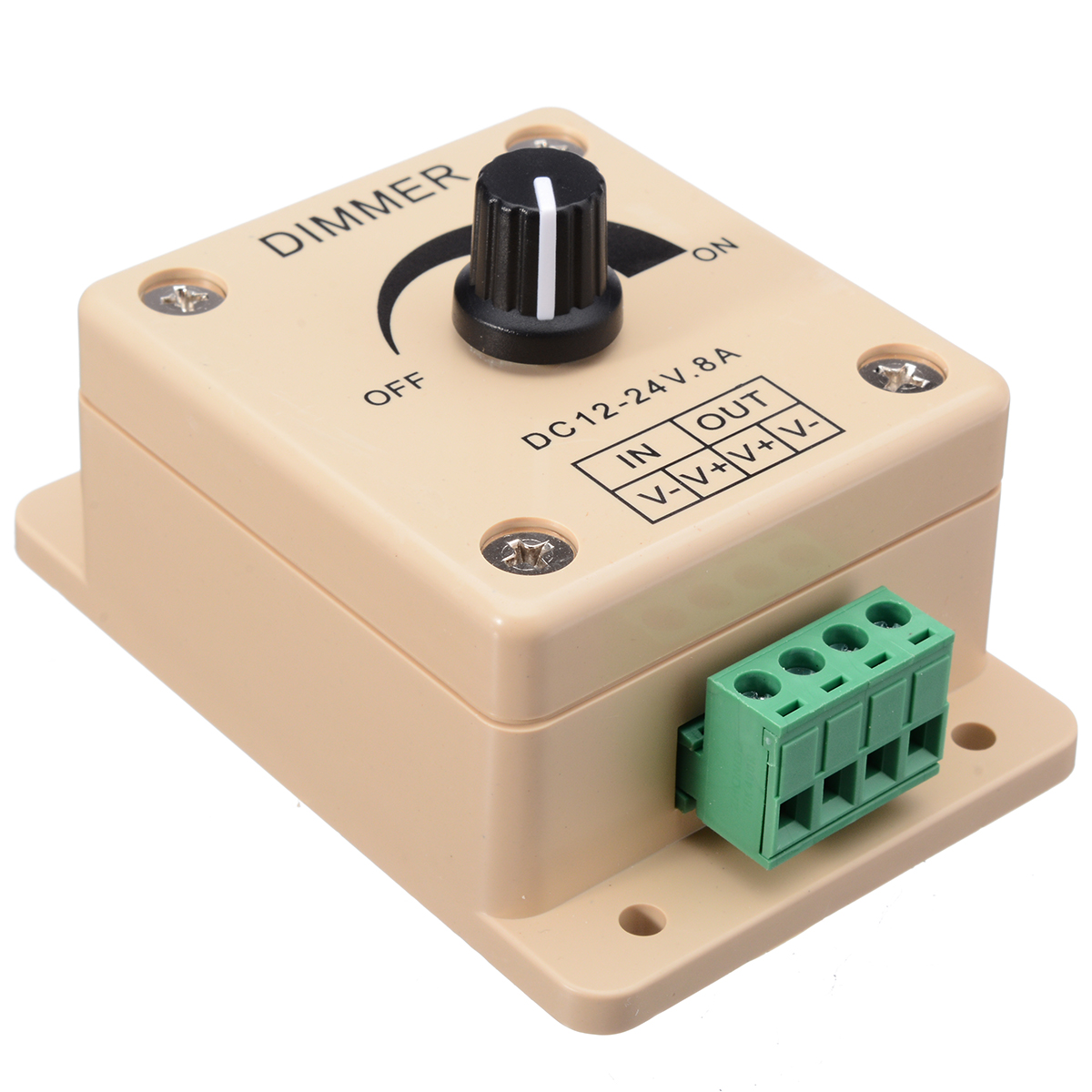 de tira interruptor dimmer brilho controlador facil 02
