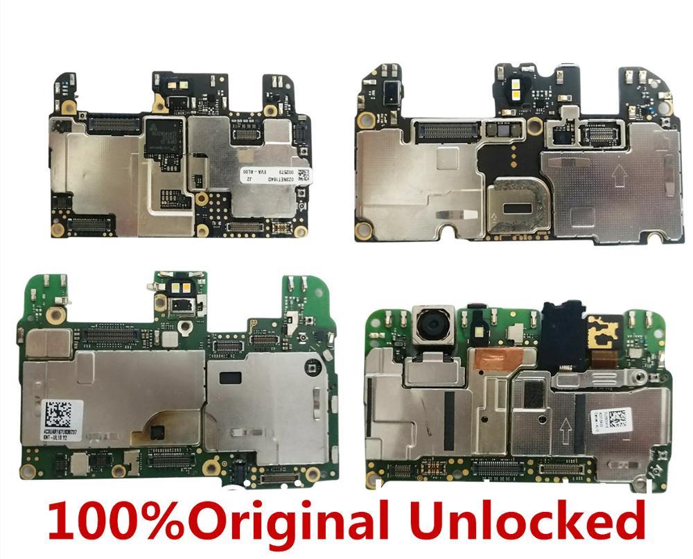 100%Original Unlocked  for huawei honor 10 lite HYA-AL00  4+64G 6+64G 6+128G  motherboard   for huawei honor 10 lite (face masks