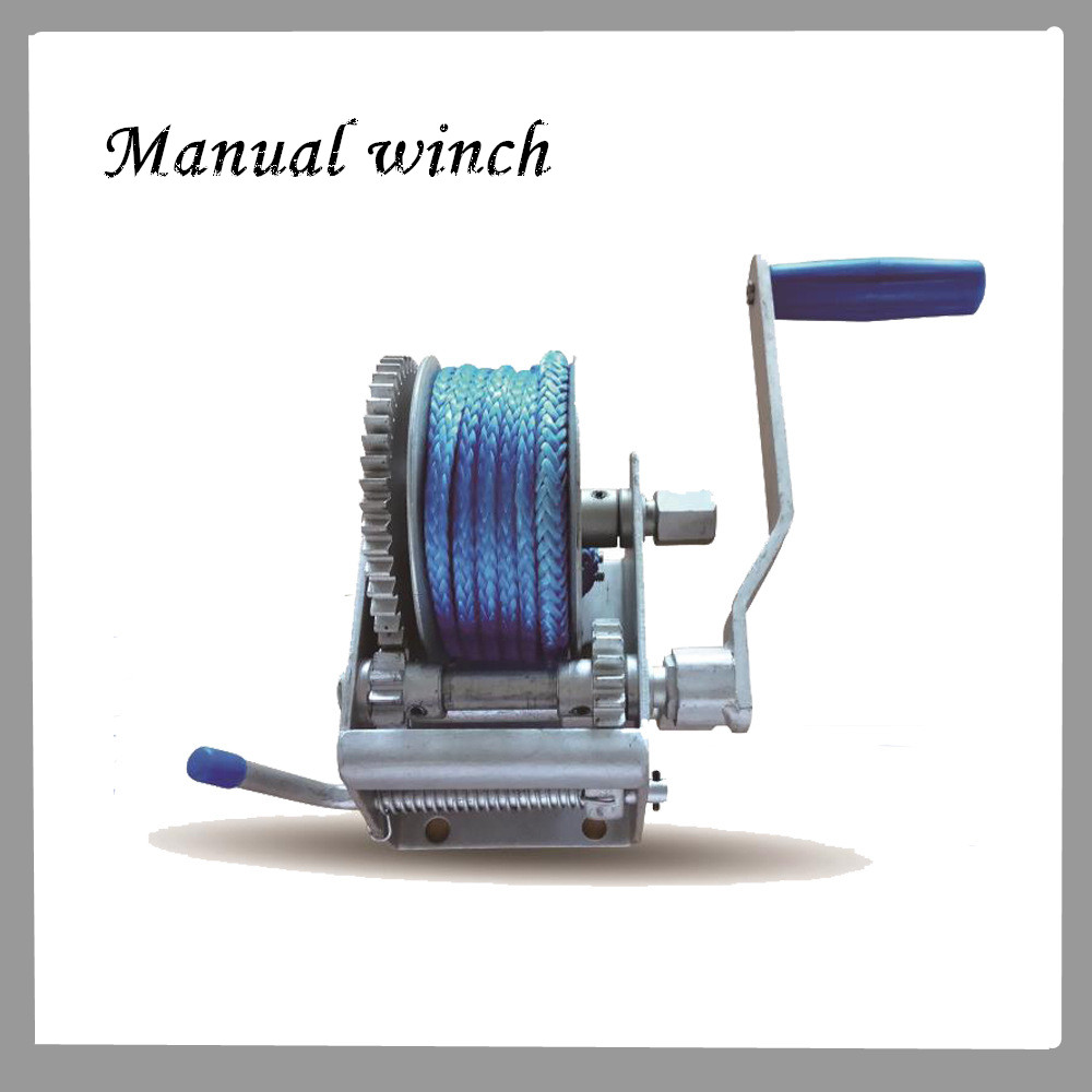 2000kg Manual Winch