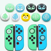 Animal Crossing Bear Leaf Paw Thumb Stick Grip Cap Joystick Cover For Nintendo Switch NS Lite Joy Con Controller Thumbstick Case