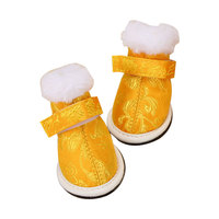 Puppy Dog Shoes Autumn And Winter Small Dog Dog Cotton Shoes Winter Snow Boots Dog Ayakkabi Hunde Schuhe Pet Supplies DD6D198