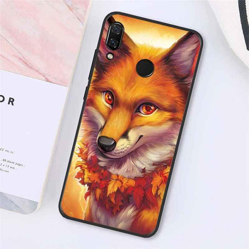 Maiyaca Động Vật Fox Trong Tự Nhiên Thu Ốp Lưng Điện Thoại Xiaomi Redmi8 4X 6A S2 Đi Redmi 5 5Plus note4 5 7 Note8Pro