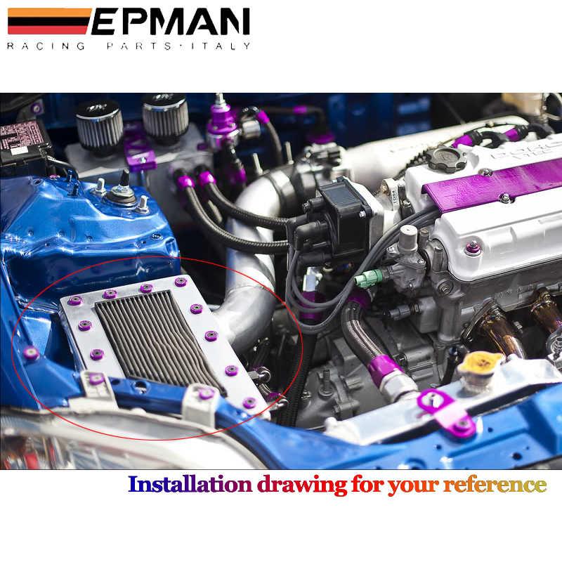 EPMAN פנדר דסקיות פגוש מכונת כביסת רישיון של ערכות ברגי פלייט הונדה סיוויק EK EP AP DC2 DC5 עבור jdm HU-DP01S-EP