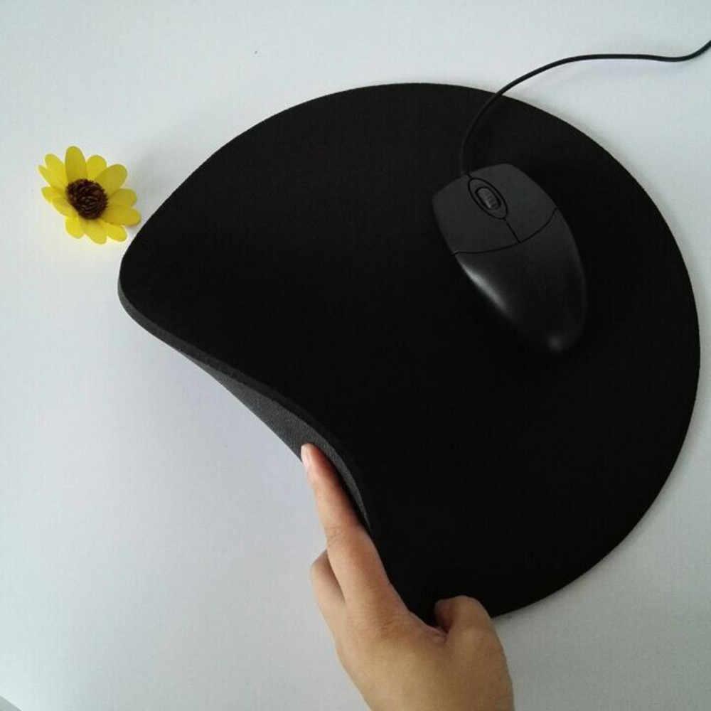 Alta antideslizante de goma-D25 * 0,2 cm gran cojín de ratón de alta calidad se antideslizante alfombrilla de ratón de goma para jugar escritorio Mat