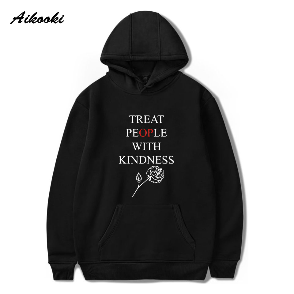 Fashion Treat People With Kindness Hoodies Men/Women Sweatshirts Harry StylesTreat People With Kindness Letter Print Coat