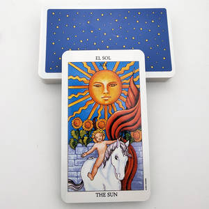 Future Games Tarot-Cards-Divination Spanish-Version 78-Cards/Box Family-Friends Playing-Mj