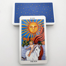 New Arrivals 78 Cards/Box Spanish Version Psychometry Future Telling Tarot Cards Divination For Games Family Friends Playing MJ