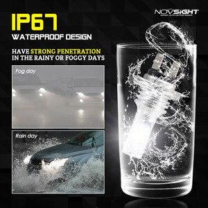 Image 5 - NOVSIGHT H4 H7 H11 H8 H9 H16JP H1 H3 자동차 LED 안개 전구 9005 9006 자동 운전 안개 램프 6500K 12V 24V LED 자동차 헤드 라이트