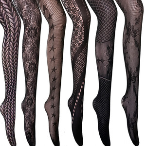 DOIAESKV Women Bodystocking Sexy Lingerie Pantyhose Erotic Lingerie Body Stockings Of Large Size Tights Plus Size Women Tights