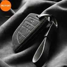 Turn Fur Car Key Case Suit For BMW Key Fob Cover Case 2 3 5 7 Series X1 X3 X5 X6 F45 F46 G20 G30 G32 G11 G12 F48 G01 F15 F85 F16