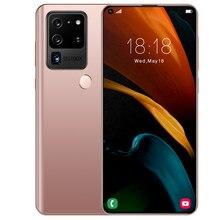 Niezdefiniowany smartfon samsung Hono S21U tra 7.2 Cal pełny ekran na dwie karty sim Deca rdzeń telefon komórkowy 12G 512G globalny Celulares