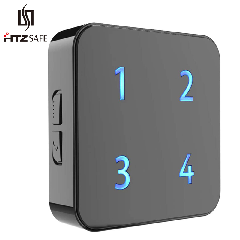 HTZSAFE Extra Wireless Plug-in Receiver - 35 Melodies & 4 Volume Levels -  4 Zones & Expandable Up To 4 Sensors