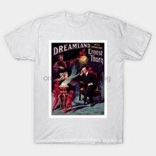Hombres camiseta Vintage mago cartel Austria Ernest Espino camiseta mujer camiseta