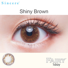 Bright Brown color Contact Lenses for eyes 6lenses Day throw 1day
