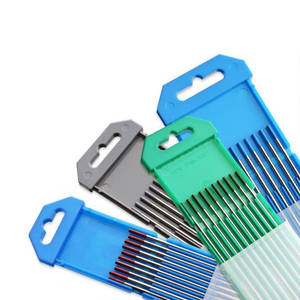 2% Ceriated Tungsten Electrodes Red/Blue/Green/Grey